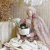 Куклы и игрушки ручной работы. Ярмарка Мастеров - ручная работа Аглая Гостеприимная интерьерная кукла. Handmade.