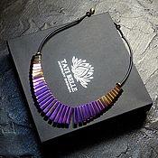 "Украшения handmade. Livemaster - original item Колье ""«Mystic light-1»"" из гематита. Handmade."