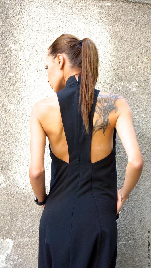 комбинезон стильный черный  сексуальная одежда модная одежда стиль городской