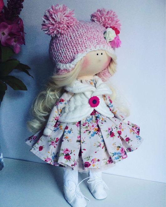 Куклы тыквоголовки ручной работы. Ярмарка Мастеров - ручная работа. Купить Кукла Полли. Handmade. Кукла ручной работы