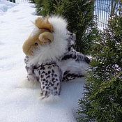 Для домашних животных, ручной работы. Ярмарка Мастеров - ручная работа Шубка на собачку из натурального меха. Handmade.