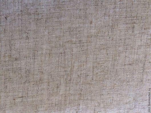 Шитье ручной работы. Ярмарка Мастеров - ручная работа. Купить ткань льняная. Handmade. Бежевый, ткань, вышивка, лен