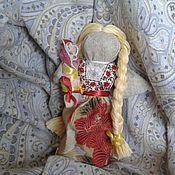 Куклы и игрушки ручной работы. Ярмарка Мастеров - ручная работа Молодушка с деткой. Handmade.