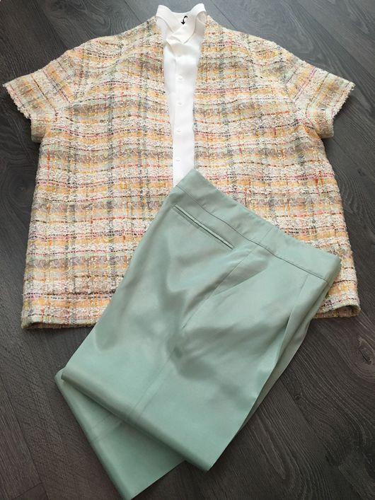 Пиджаки, жакеты ручной работы. Ярмарка Мастеров - ручная работа. Купить Жакет в японском стиле выполнен из хлопка Шанель.. Handmade.