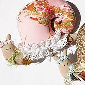 Куклы и игрушки ручной работы. Ярмарка Мастеров - ручная работа Улитка тильда.. Handmade.