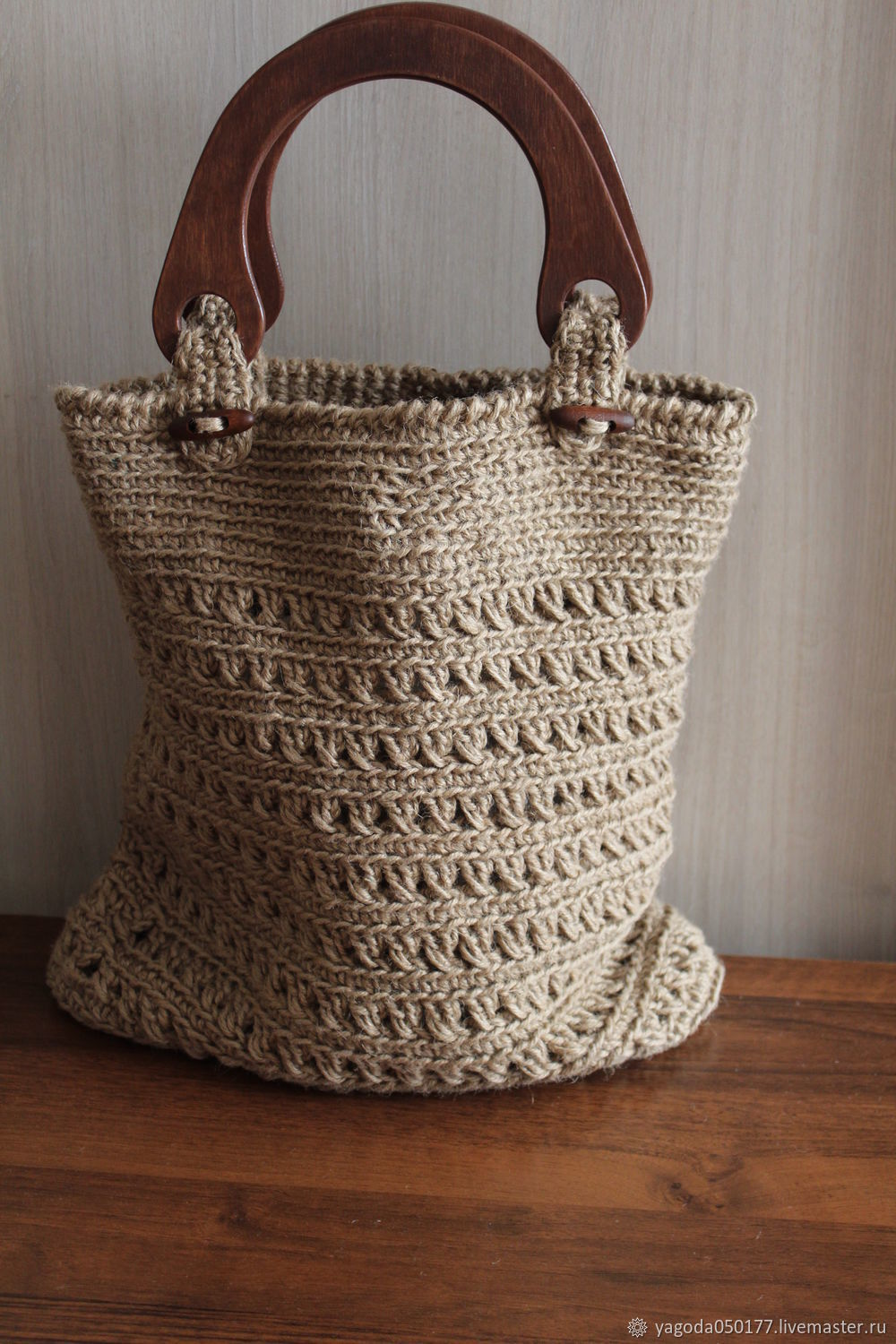 Bags & Accessories handmade. Livemaster - handmade. Buy Bag-basket of jute 'Once upon a time''.Jute