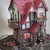 Сувениры и подарки ручной работы. Ярмарка Мастеров - ручная работа Миниатюра домик с подсветкой. Handmade.
