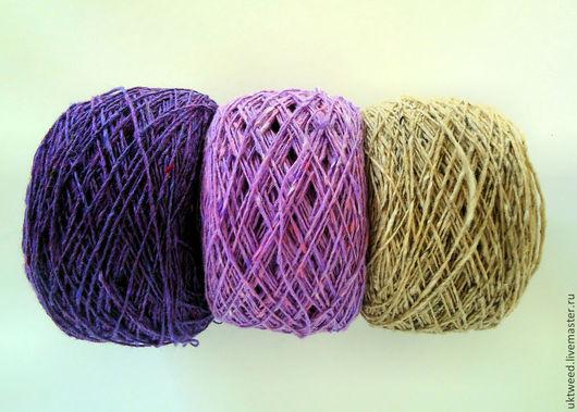 Вязание ручной работы. Ярмарка Мастеров - ручная работа. Купить Soft Donegal Tweed -100% меринос. Handmade. Пряжа для вязания