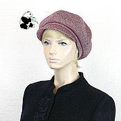 Аксессуары handmade. Livemaster - original item Stylish ladies ` eight-point tweed cap.