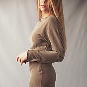 """Одежда ручной работы. Ярмарка Мастеров - ручная работа Платье """"Nude"""". Handmade."""
