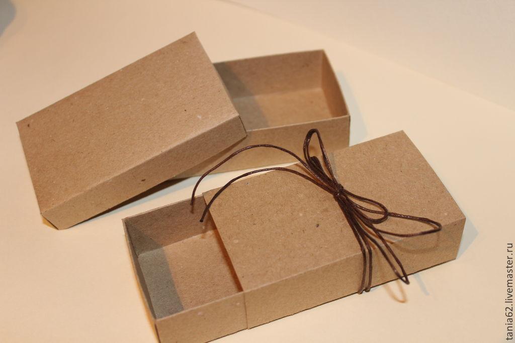 Коробка своими руками из крафта
