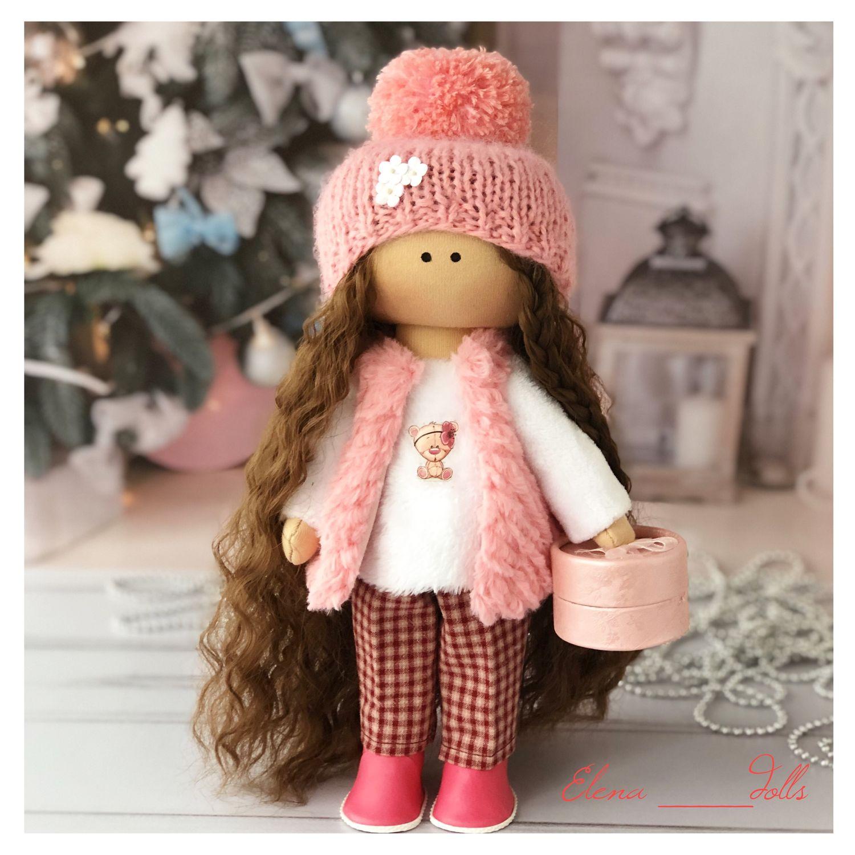 Кукла интерьерная, Куклы Тильда, Москва,  Фото №1