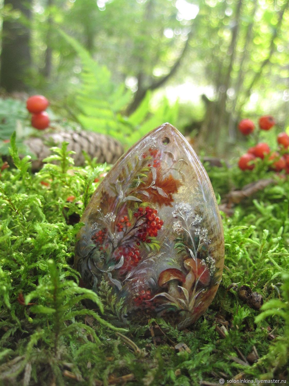 Подарки лесные, Кулон, Москва,  Фото №1