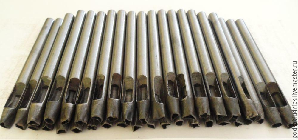 Набор фигурных пробойников 36 штук, Инструменты, Липецк, Фото №1