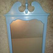 Для дома и интерьера ручной работы. Ярмарка Мастеров - ручная работа Зеркало голубое. Handmade.