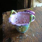 """Конфетницы ручной работы. Ярмарка Мастеров - ручная работа Berry Bowl/Конфетница """"Колокольчик"""". Handmade."""