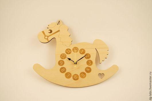 """Часы для дома ручной работы. Ярмарка Мастеров - ручная работа. Купить Настенные часы """"Лошадка"""". Handmade. Часы, часики"""