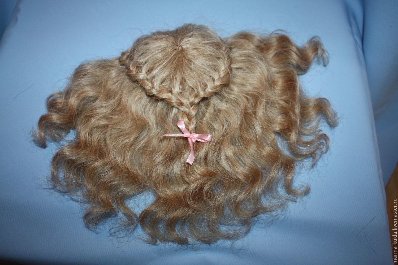 Wig for dolls, Vintage doll, Noginsk,  Фото №1