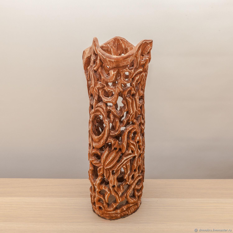 Ваза деревянная «Королевское величие»