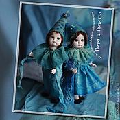 Куклы и игрушки ручной работы. Ярмарка Мастеров - ручная работа Пьеро и Пьеретта. Нежный взгляд сквозь облако пудры.... Handmade.