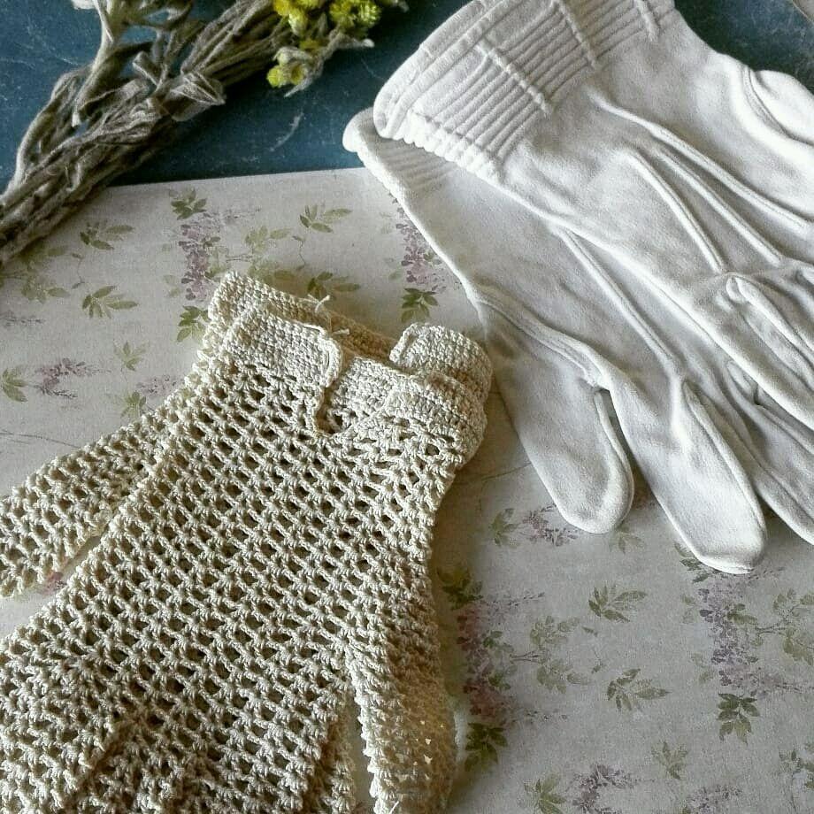 Винтаж: Старинные детские перчатки, Аксессуары винтажные, Анапа,  Фото №1