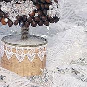 """Подарки к праздникам ручной работы. Ярмарка Мастеров - ручная работа Елка """"Сливочный кофе"""". Handmade."""