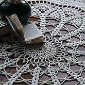 Для дома и интерьера handmade. Livemaster - original item Tissue paper Winter tale (mini tablecloth). Handmade.