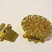 Материалы для творчества handmade. Livemaster - original item 4 thread lock for jewelry. Handmade.