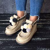 Обувь ручной работы handmade. Livemaster - original item Boots design