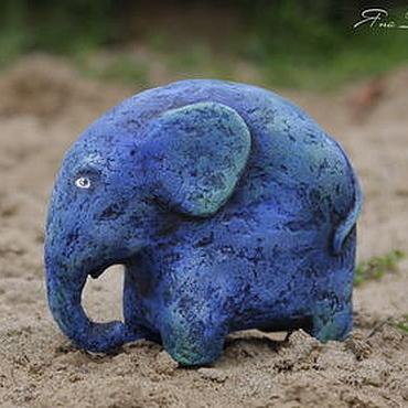 Куклы и игрушки ручной работы. Ярмарка Мастеров - ручная работа Жил в Африке слон. Handmade.