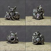 Материалы для творчества handmade. Livemaster - original item Degus charm. Handmade.