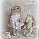 Коллекционные куклы ручной работы. Заказать ЛЕЯ.... Коллекционная текстильная кукла. Алена Мазалова. Ярмарка Мастеров. Кукла в подарок, куколка