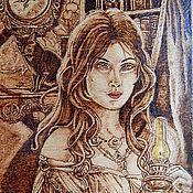 """Картины и панно ручной работы. Ярмарка Мастеров - ручная работа Картина """"Время тайн"""". Handmade."""