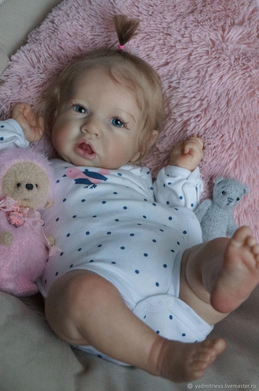 Кукла реборн Варюшка 3, молд Saskia, Куклы Reborn, Челябинск,  Фото №1