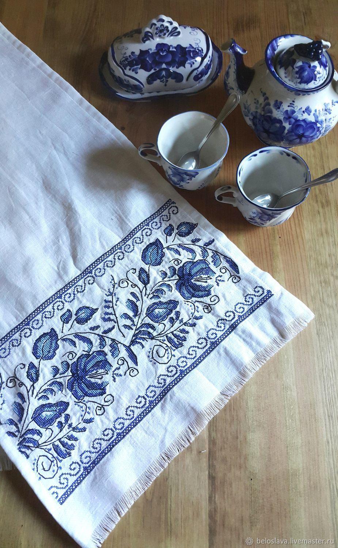 Towel in Gzhel style, Towels, Bryansk,  Фото №1