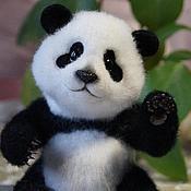 """Куклы и игрушки ручной работы. Ярмарка Мастеров - ручная работа Войлочная игрушка """"Панда"""". Handmade."""