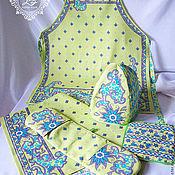 Для дома и интерьера ручной работы. Ярмарка Мастеров - ручная работа Подарочный набор для кухни Оливка. Handmade.