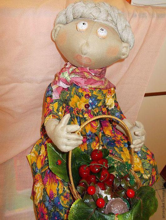 """Коллекционные куклы ручной работы. Ярмарка Мастеров - ручная работа. Купить Кукла """"МАТРЕНА"""". Handmade. Бежевый, хлопок 100%"""