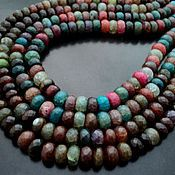Материалы для творчества handmade. Livemaster - original item Agate faceted beads 11mm, 20cm strand. Handmade.