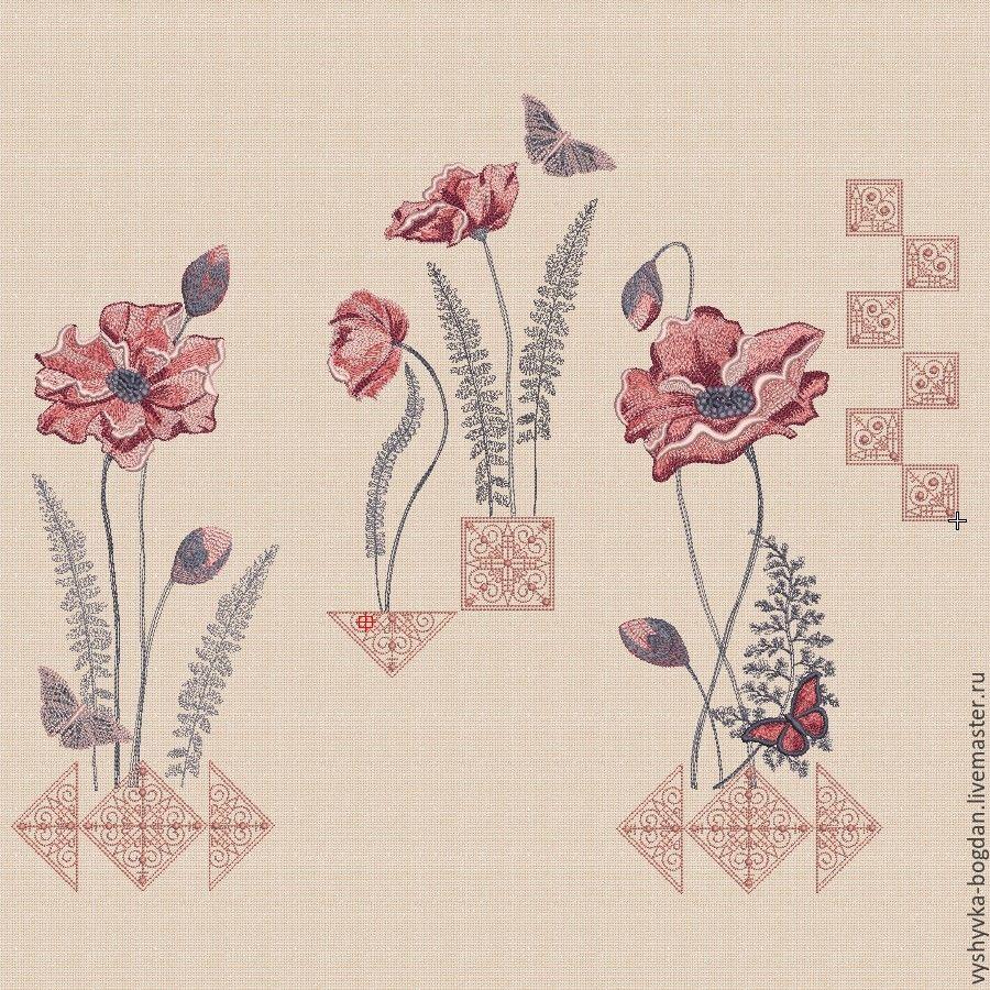 """Дизайны машинной вышивки набор """"Винтажный этюд"""" плотное заполнение, Patterns for embroidery, Ivano-Frankivsk,  Фото №1"""