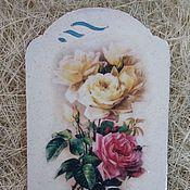 """Для дома и интерьера ручной работы. Ярмарка Мастеров - ручная работа """"Розы"""". Handmade."""