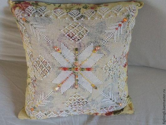 Текстиль, ковры ручной работы. Ярмарка Мастеров - ручная работа. Купить красивый чехол на подушку Наследство. Handmade. Чехол на подушку