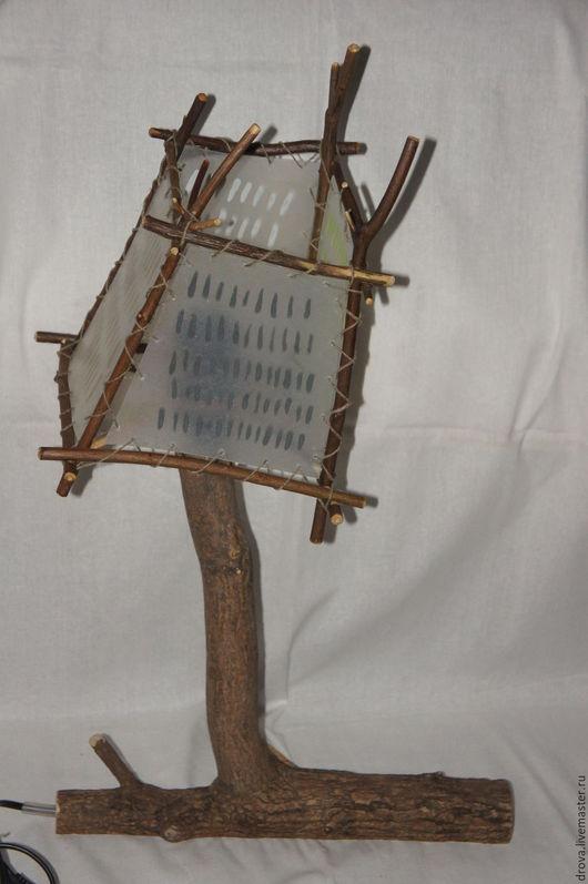 """Быт ручной работы. Ярмарка Мастеров - ручная работа. Купить """"Роби"""". Handmade. Светильник из дерева, ночник из дерева"""