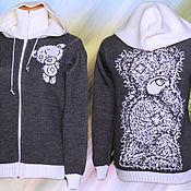 Одежда ручной работы. Ярмарка Мастеров - ручная работа Тату-свитера - Мишки Тедди. Handmade.