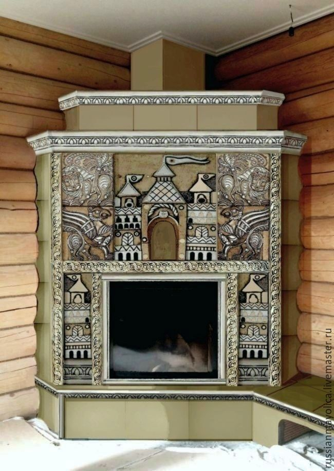 Suzdal fireplace, Fireplaces, Moscow,  Фото №1