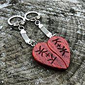 Подарки к праздникам handmade. Livemaster - original item Paired keychains