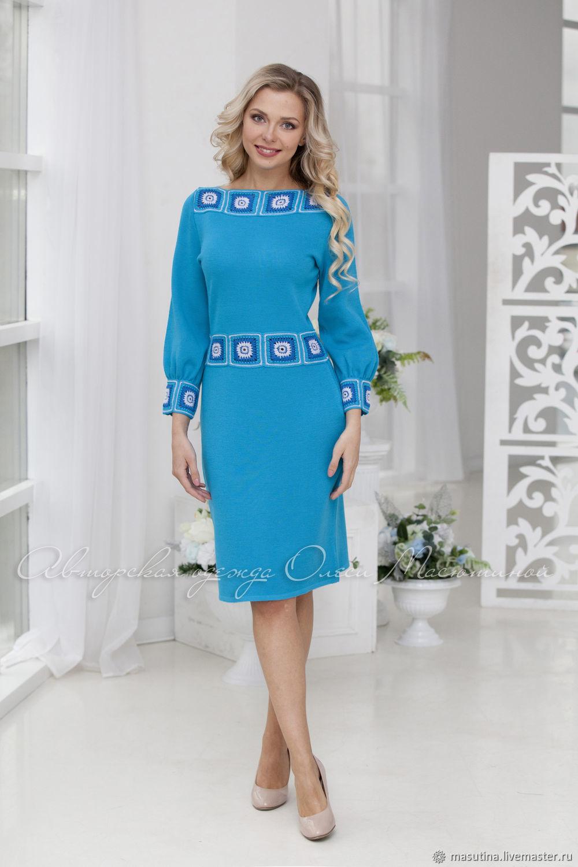 Dress 'Glory' bright blue, Dresses, St. Petersburg,  Фото №1