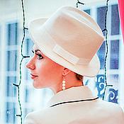 Свадебный салон handmade. Livemaster - original item Wedding hat