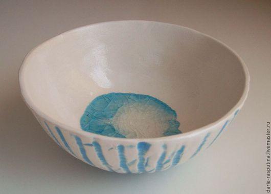 Пиалы ручной работы. Ярмарка Мастеров - ручная работа. Купить Пиала керамическая. Handmade. Голубой, глиняная посуда, посуда из керамики