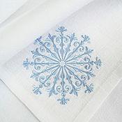 Подарки к праздникам handmade. Livemaster - original item Christmas napkin with embroidered